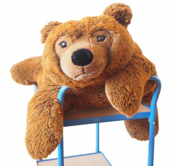 Steiff - Großer Teddybär. - photo 1
