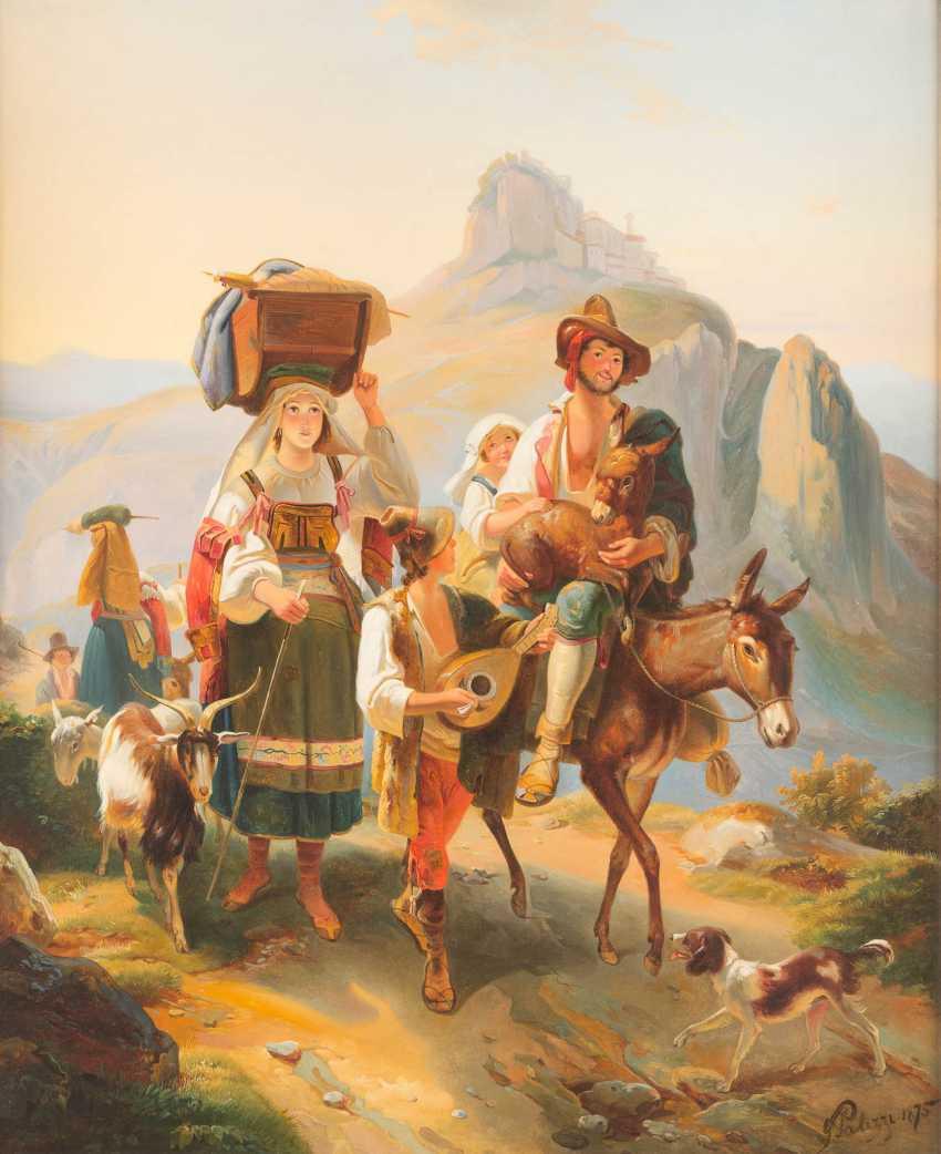 Shepherd Family In Abruzzo - photo 1