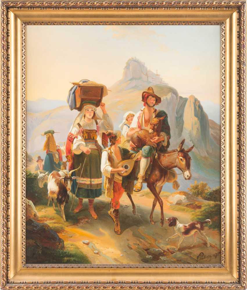 Shepherd Family In Abruzzo - photo 2