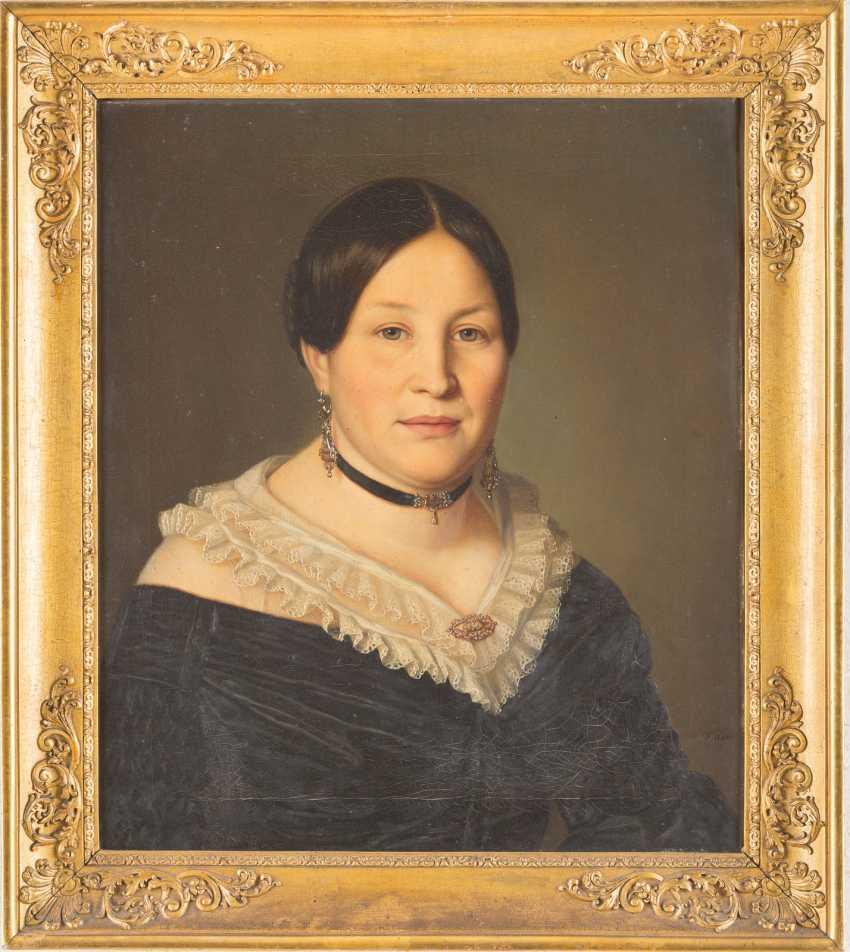 Portrait couple. Portrait of a Noble Lord (1); Portrait of a Fine Lady (2) - photo 4