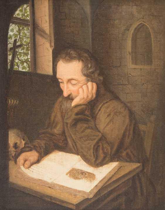 Monk Reading - photo 1