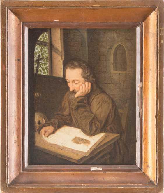 Monk Reading - photo 2