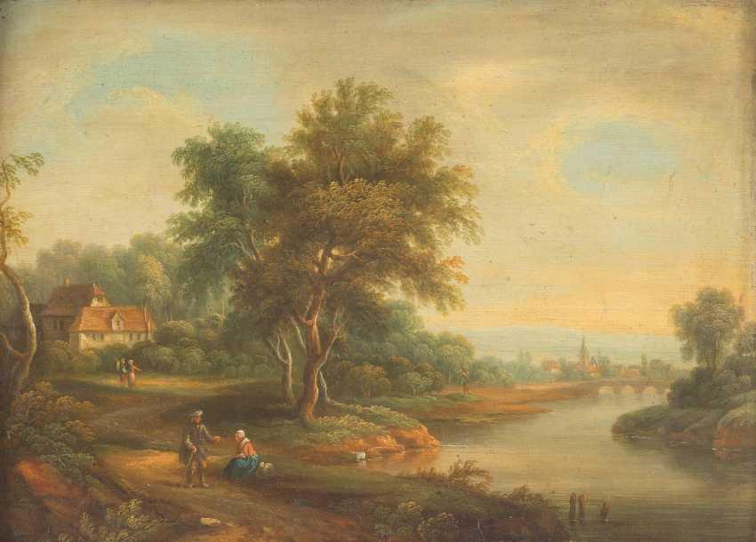 Romantic landscape - photo 1