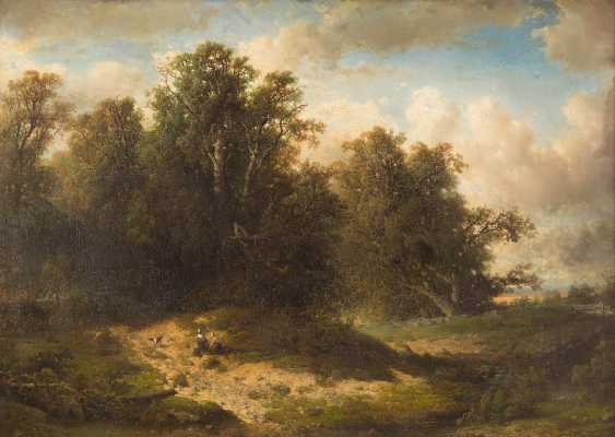 Two Resting In A Wide Landscape - photo 1