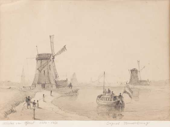 Two drawings with Dutch landscape motifs - photo 2