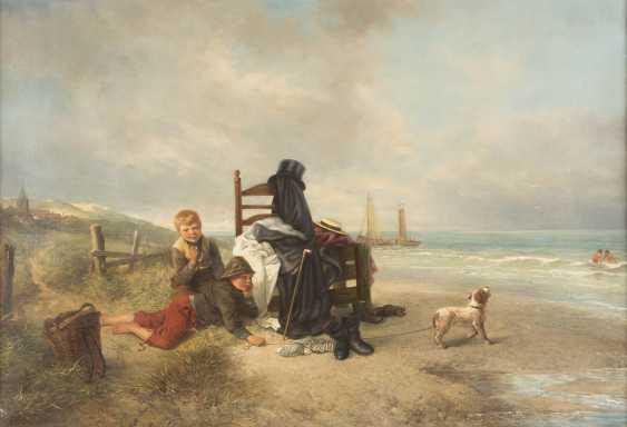 Two boys on the beach - photo 1