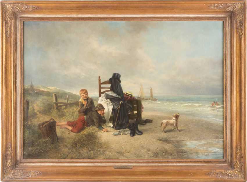 Two boys on the beach - photo 2