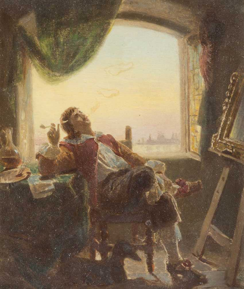 In the artist's studio - photo 1