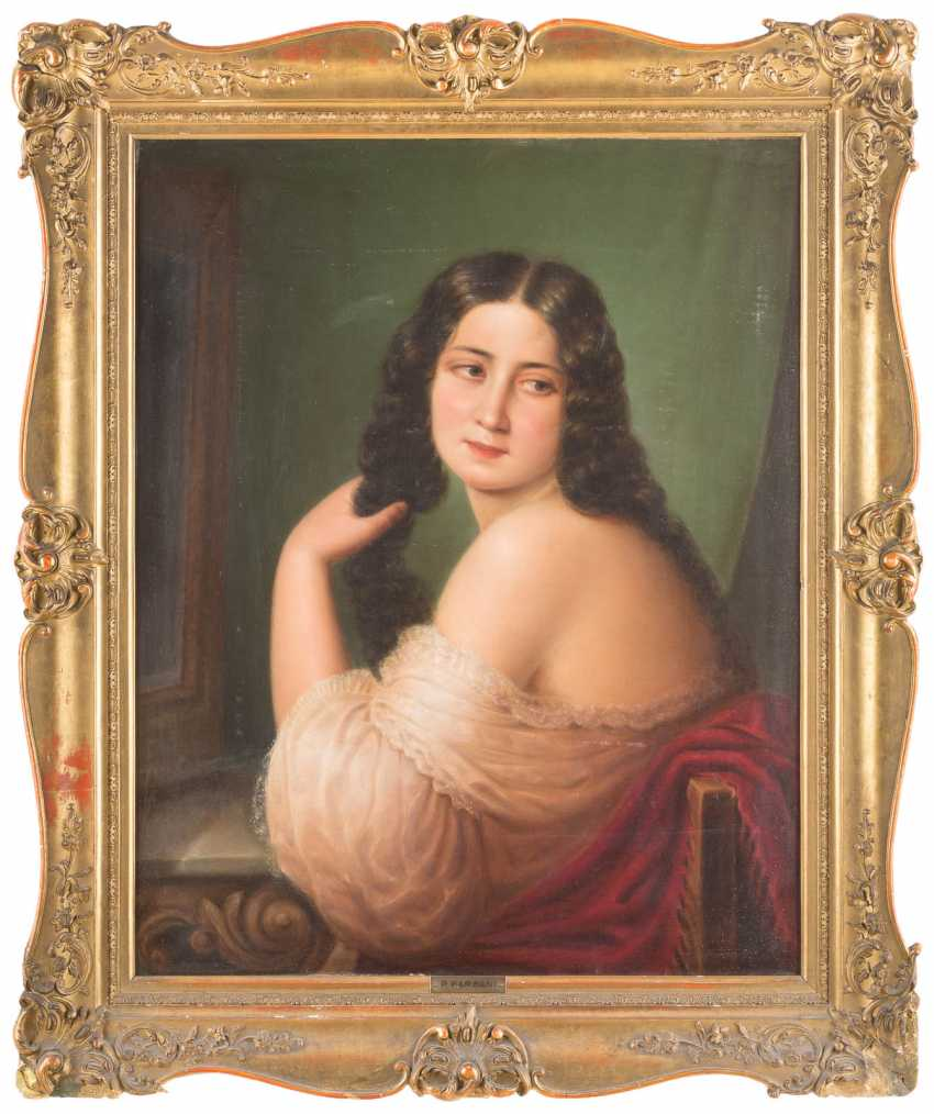 Lady in front of the mirror - photo 2