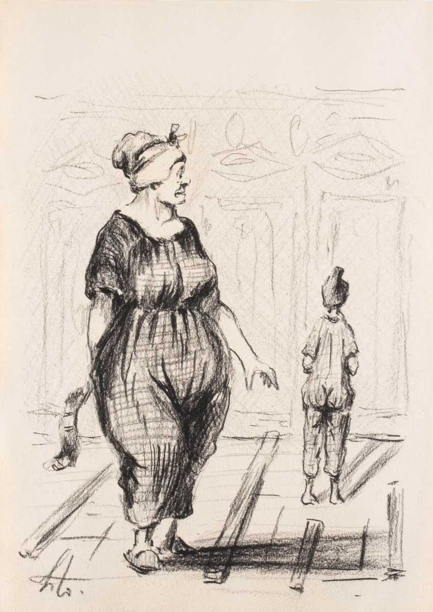 Approx. Three hundred and eighty-eight drawings after Daumier - photo 2