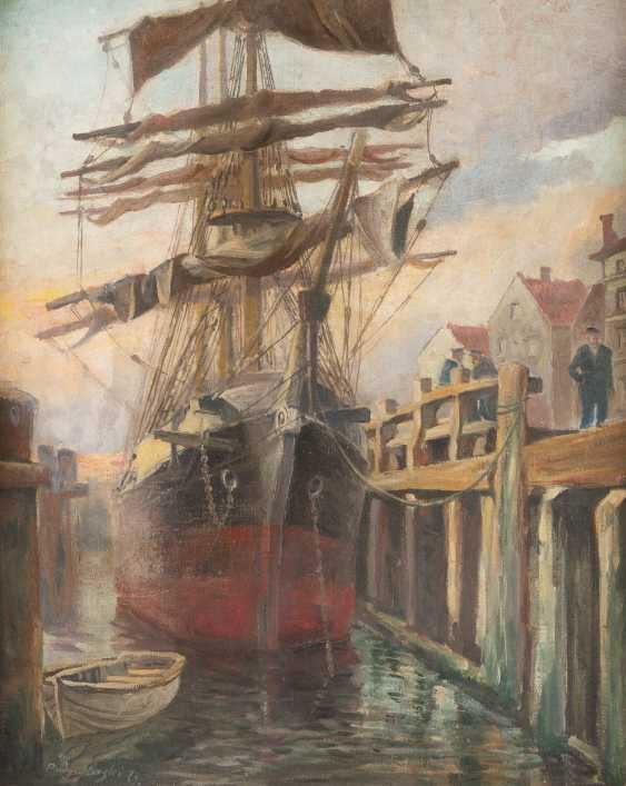 Ship on the quay - photo 1