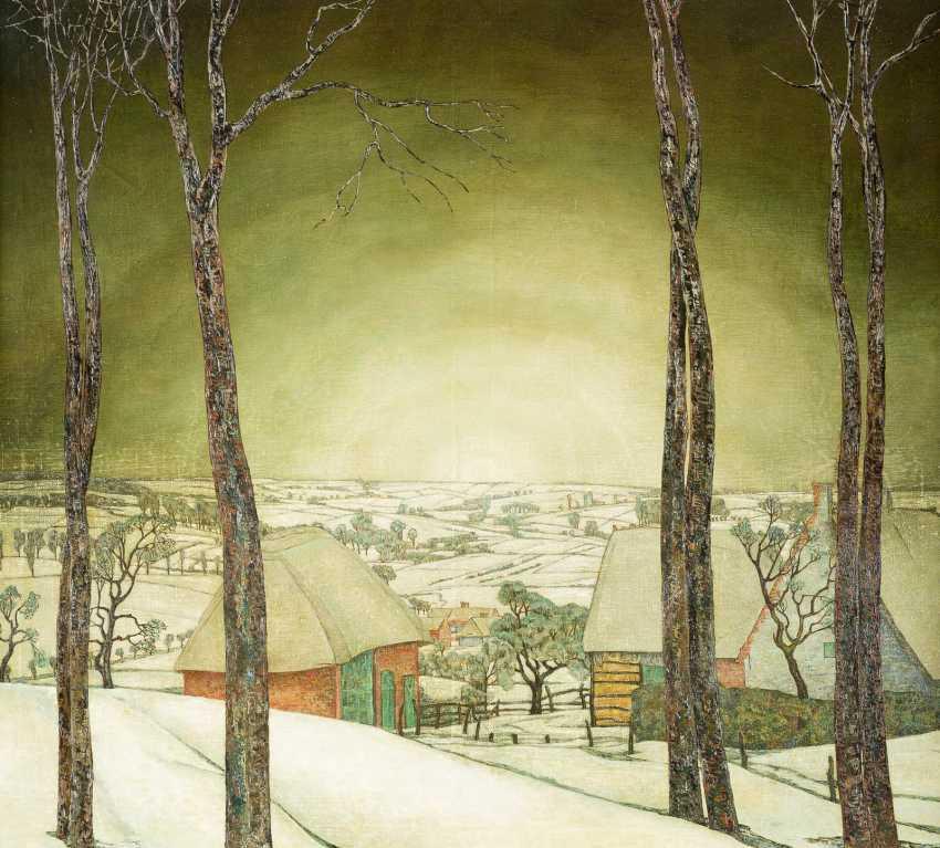 Winterlandschaft, Um 1926 - photo 1