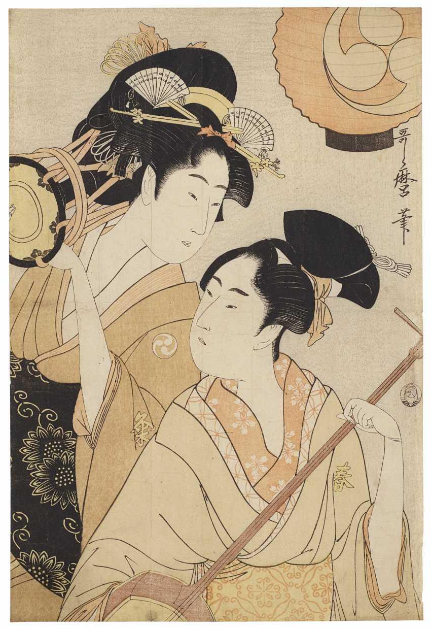 KITAGAWA UTAMARO (1754-1806) - photo 1