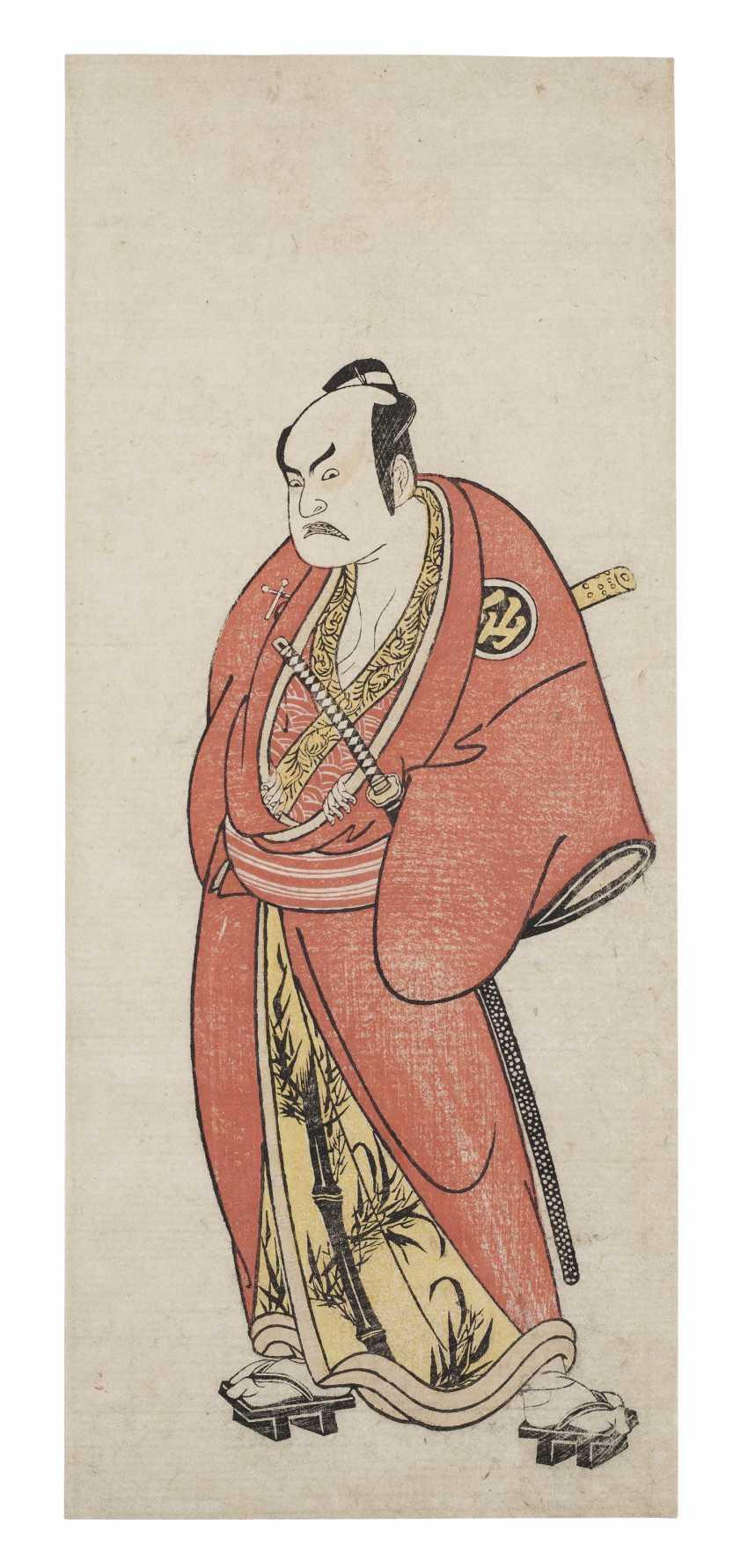 KATSUKAWA SHUNSHO (1726-1792) - photo 1