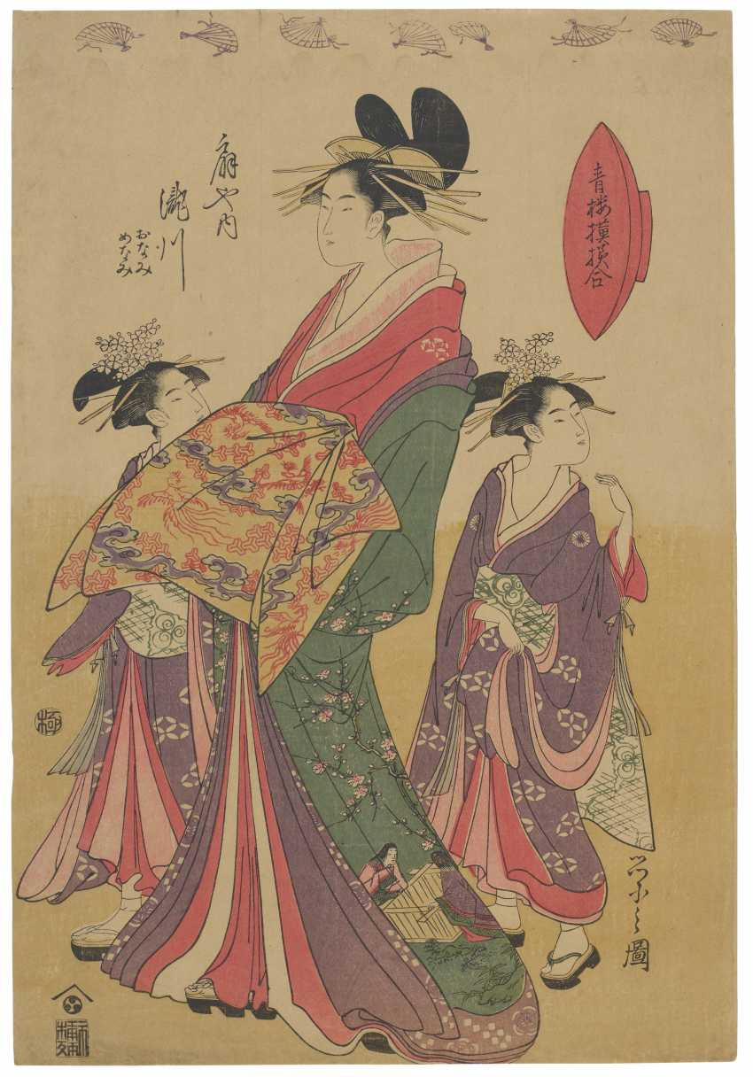 CHOBUNSAI EISHI (1756-1829) - photo 1