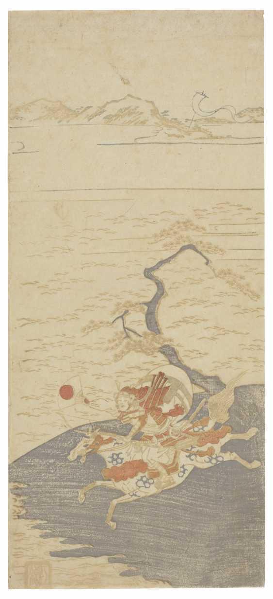 TORII KIYOMITSU I (1735-1785) AND ANONYMOUS (18TH CENTURY) - photo 1