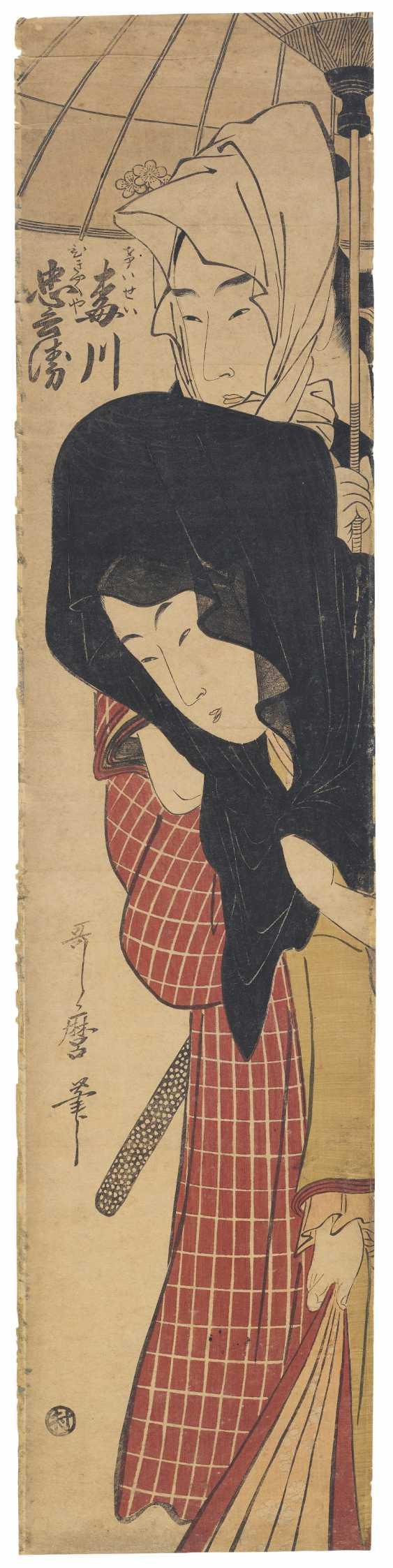 KITAGAWA UTAMARO (1754–1806) - photo 1
