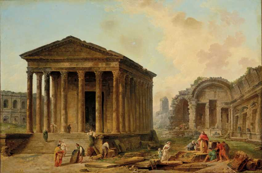 HUBERT ROBERT (PARIS 1733-1808) - photo 1