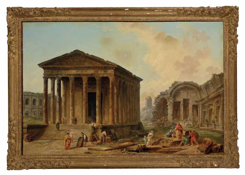HUBERT ROBERT (PARIS 1733-1808) - Foto 2