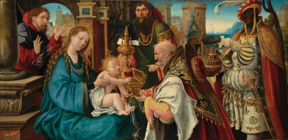 ÉCOLE FRANCAISE VERS 1520, ENTOURAGE DE NOËL BELLEMARE - photo 1