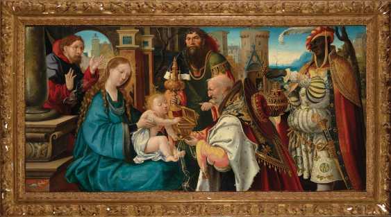 ÉCOLE FRANCAISE VERS 1520, ENTOURAGE DE NOËL BELLEMARE - photo 2