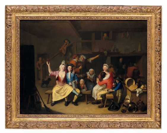 NICOLAS VAN HAEFTEN (GORICHEM 1683-1715 PARIS) - photo 1