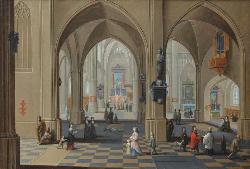 PIETER NEEFS LE VIEUX (ANVERS VERS 1570-1659) - photo 1