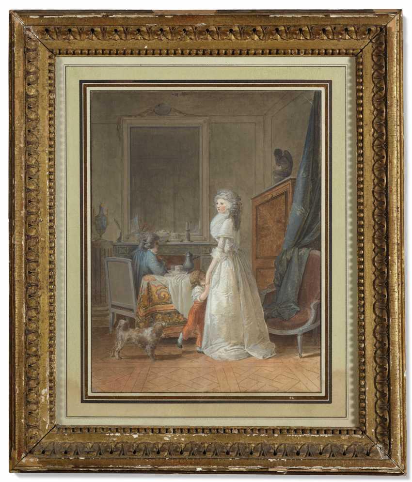 JEAN-BAPTISTE MALLET (GRASSE 1759-1835 PARIS) - photo 1