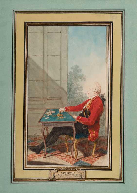 ATTRIBUÉ À LOUIS CARROGIS DIT CARMONTELLE (PARIS 1717-1806) ... - photo 1