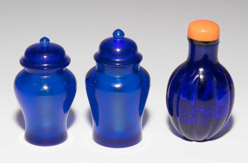7 Glas Snuff Bottles - photo 22