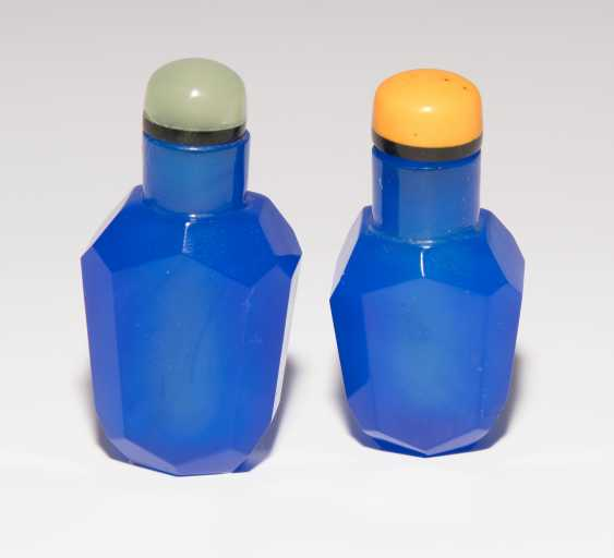 7 Glas Snuff Bottles - photo 1