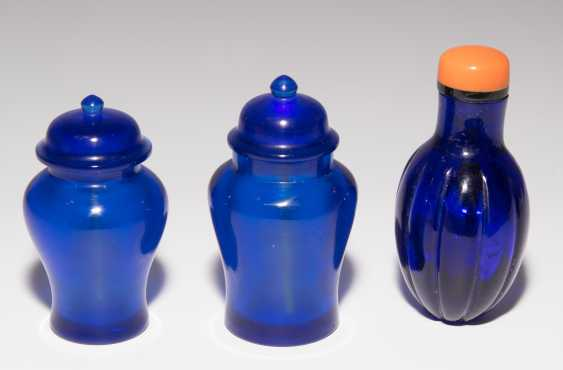 7 Glas Snuff Bottles - photo 11