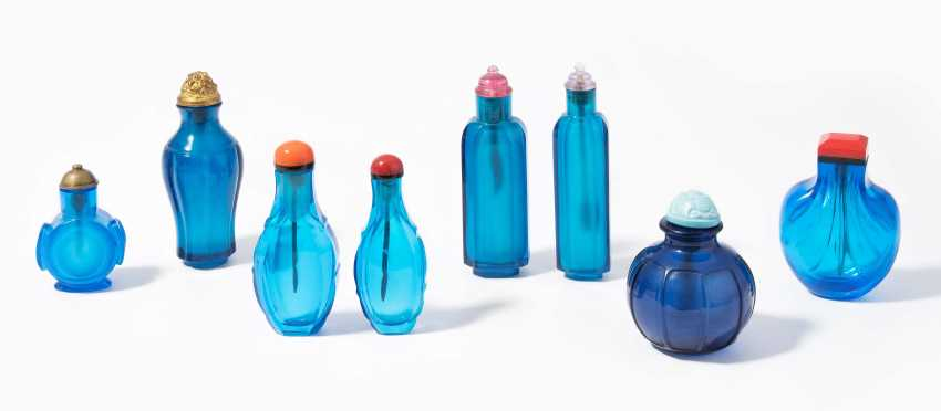 8 Glas Snuff Bottles - photo 1