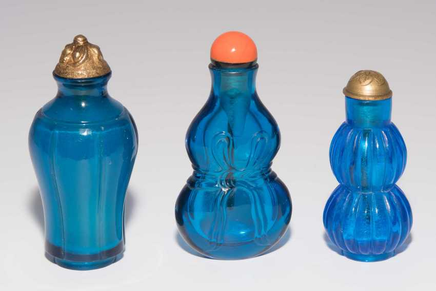 6 Glas Snuff Bottles - photo 2