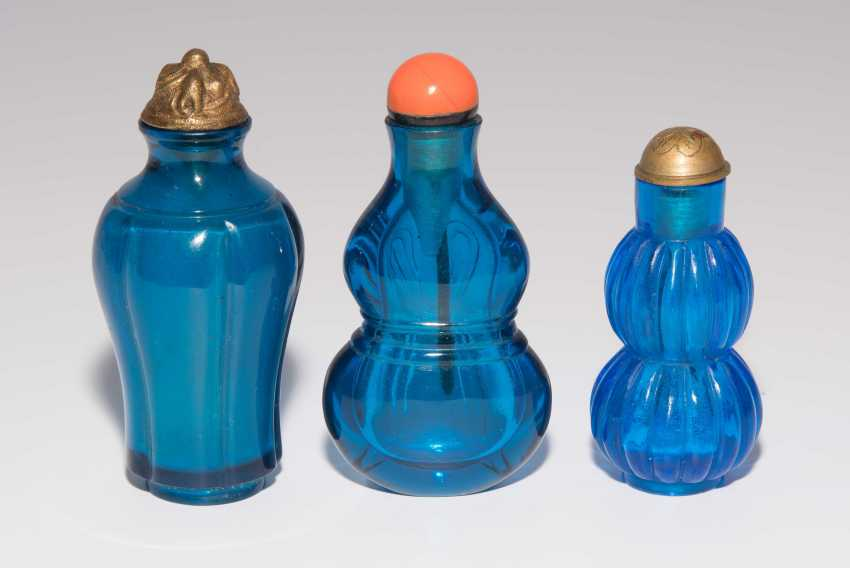 6 Glas Snuff Bottles - photo 9