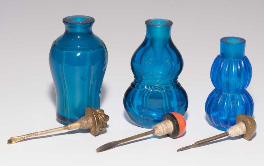 6 Glas Snuff Bottles - photo 13