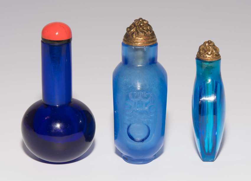 6 Glas Snuff Bottles - photo 15