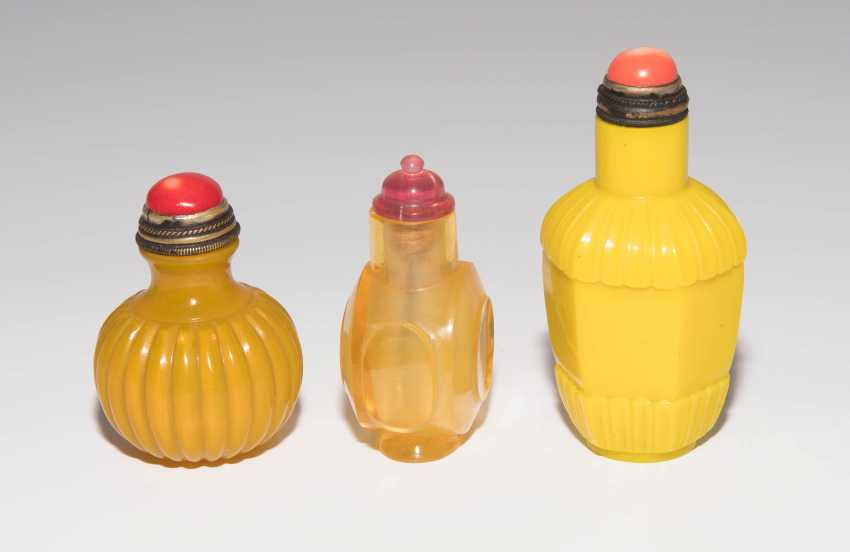 7 Glas Snuff Bottles - photo 4