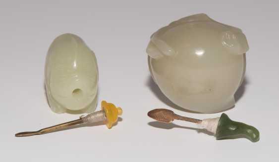 2 Jade Snuff Bottles - photo 8