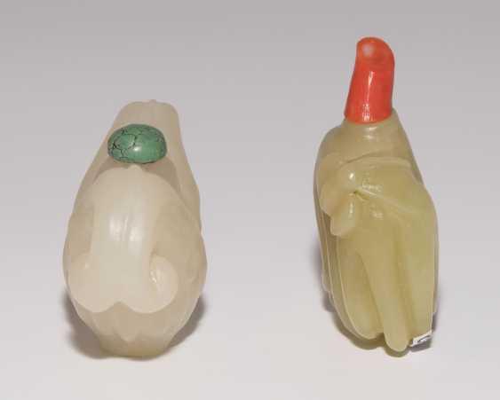 2 Jade Snuff Bottles - photo 3