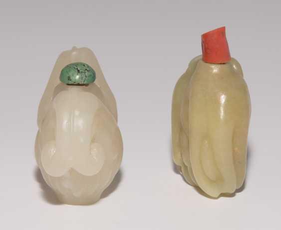 2 Jade Snuff Bottles - photo 5