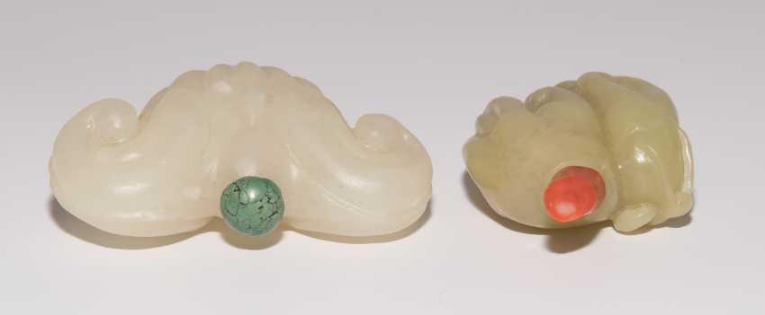 2 Jade Snuff Bottles - photo 6