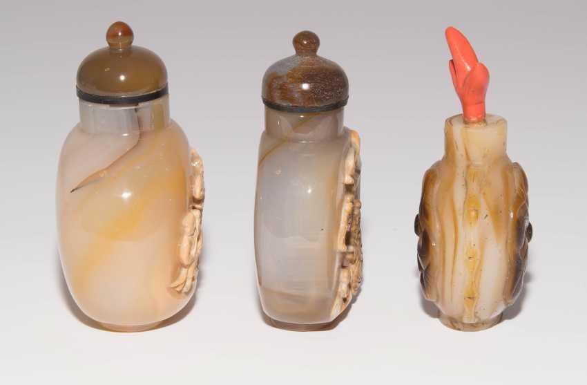 6 Achat Snuff Bottles - photo 4