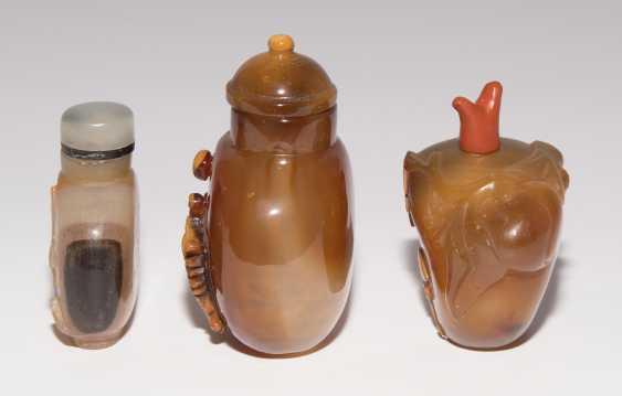 6 Achat Snuff Bottles - photo 8