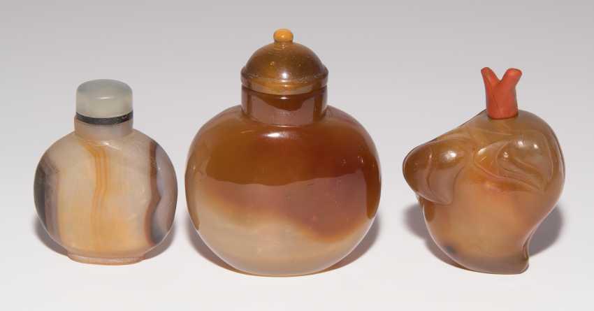 6 Achat Snuff Bottles - photo 9