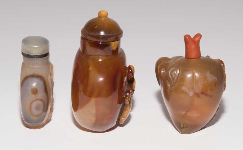 6 Achat Snuff Bottles - photo 10
