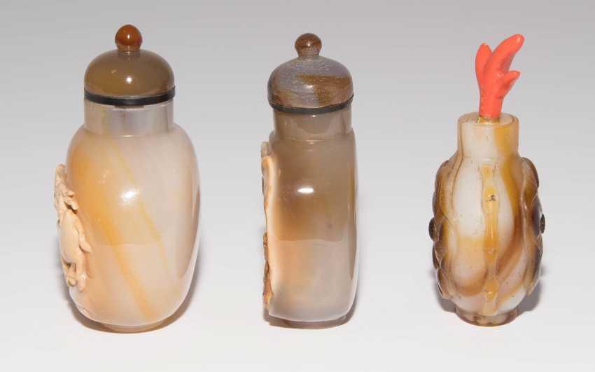 6 Achat Snuff Bottles - photo 15