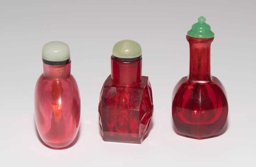 6 Glas Snuff Bottles - photo 4