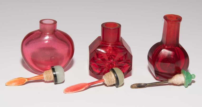 6 Glas Snuff Bottles - photo 7