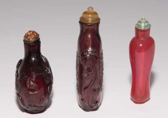 6 Glas Snuff Bottles - photo 8